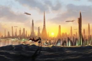City Of Krypton Wallpaper