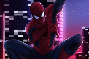 City Of Spiders 4k Wallpaper