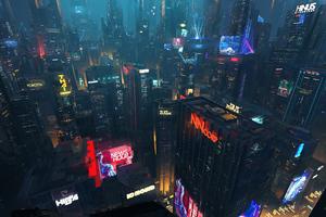 Cityscape Digital Art 5k
