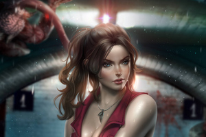 Claire Redfield Resident Evil 2 FanArt Wallpaper