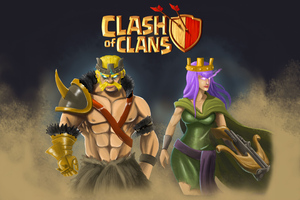 Clash Of Clans 4k Wallpaper
