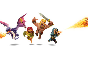 Clash Of Clans 8k Wallpaper