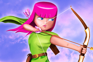 Clash Of Clans Archer Wallpaper