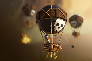 Clash Of Clans Balloons Wallpaper