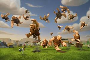 Clash Of Clans Giants Wallpaper