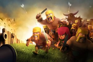 Clash Of Clans HD Wallpaper
