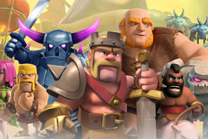 Clash Of Clans Mobile Game Wallpaper