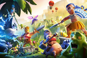 Clash Of Clans Town Hall 14 Wallpaper