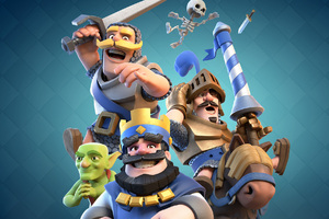 Clash Royale 2016 Wallpaper