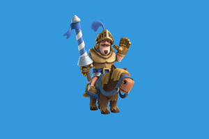 Clash Royale Blue Prince 2 Wallpaper