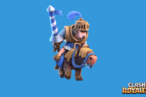 Clash Royale Blue Prince 3 Wallpaper