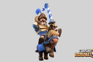 Clash Royale Blue Prince Wallpaper