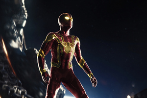 Classic Iron Spider Suit 5k