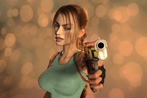 Classic Lara Croft 4k Wallpaper