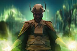 Classic Loki Wallpaper