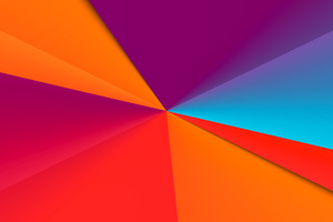 Clean Colors Abstract 8k Wallpaper