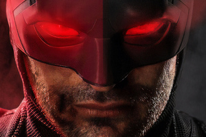 Closeup Daredevil Wallpaper