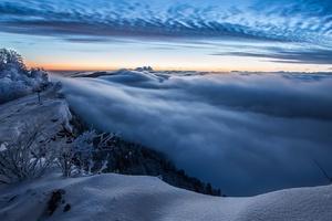 Clouds Winter Sky