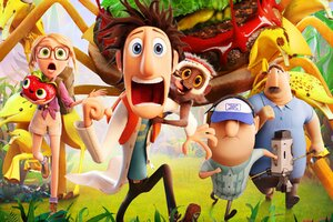 Cloudy With A Chance Of Meatballs Movie