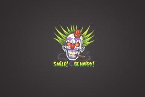 Clown Art Smile