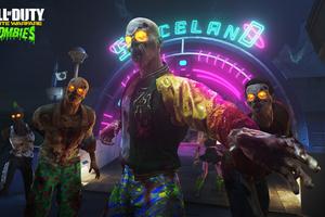 COD Infinite Warfare Zombies In Spaceland Wallpaper