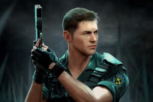 Code Veronica Chris Front Resident Evil