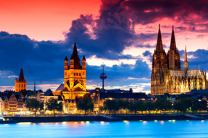 Cologne Cathedral In Gemany 4k Wallpaper