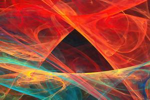 Color Wave 4k