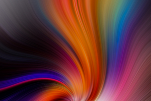 Colorful Abstract Swirl