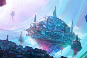 Colorful City 4k Wallpaper