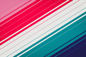 Colorful Lines Abstract 5k