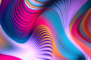 Colorful Movements Of Abstract Art 4k