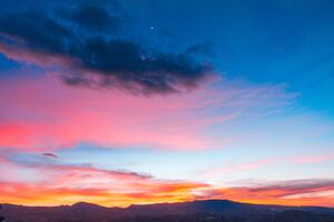 Colorful Sunset Sky 5k