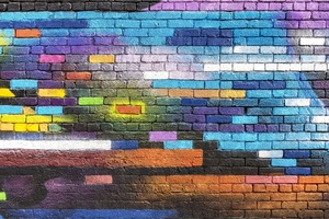 Colorful Walls Photography 5k Wallpaper