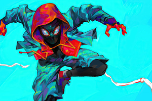 Comic Mavel Spiderman Art 4k