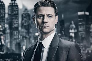 Commissioner Gordon Gotham Season 4 Wallpaper