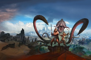 Conan Exiles Key Art