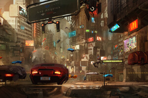 Concept Art Cyberpunk 2077 Wallpaper