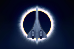 Concorde Carre Eclipse Wallpaper