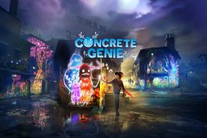 Concrete Genie 4k Wallpaper