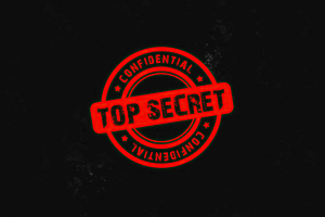 Confidential Top Secret 4k Wallpaper