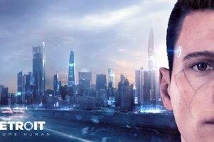 Connor Detroit Become Human Wallpaper