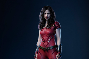 Conor Leslie As Donna Troy In Titans Wallpaper