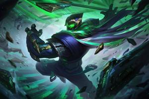 Conqueror Jax League Of Legends Wallpaper