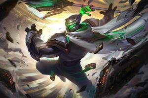 Conqueror Jax Prestige Edition League Of Legends Wallpaper