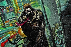 Constantine Hellblazer Comic Art Wallpaper