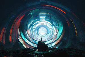 Contact Portal 5k Wallpaper