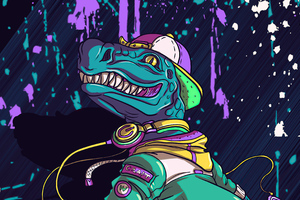 Cool Crocodile Skating Wallpaper
