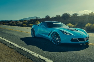 Corvette Chevrolet Forgiato Wallpaper