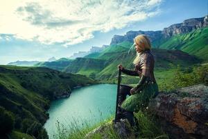 Cosplay Girl Warrior Wallpaper